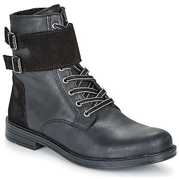Skor Flickor Boots Citrouille et Compagnie LOMENE Svart