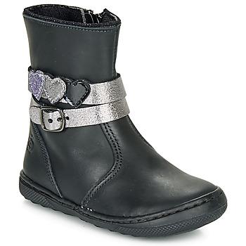 Skor Flickor Boots Citrouille et Compagnie LOMINE Svart