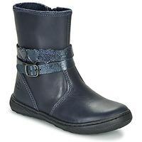 Skor Flickor Boots Citrouille et Compagnie LOMINE Blå