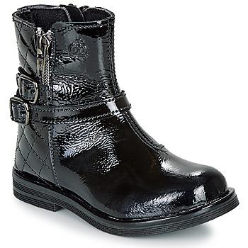 Skor Flickor Boots Citrouille et Compagnie LIMIDOU Svart