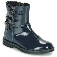Skor Flickor Boots Citrouille et Compagnie LIMIDOU Blå