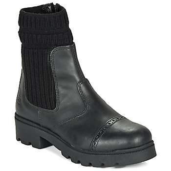 Skor Flickor Boots Citrouille et Compagnie LOBINOUTE Svart