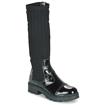 Skor Flickor Boots Citrouille et Compagnie LAPADOU Svart