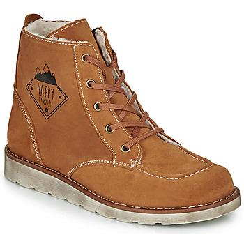 Skor Pojkar Boots Citrouille et Compagnie LISITON Kamel