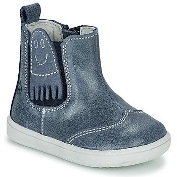 Skor Pojkar Boots Citrouille et Compagnie LESKIMO Blå