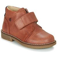 Skor Pojkar Boots Citrouille et Compagnie LAPUPI Brun