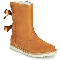Skor Flickor Boots Citrouille et Compagnie LILINA Kamel