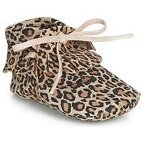 Skor Flickor Tofflor Citrouille et Compagnie LILIFI Kamel / Leopard