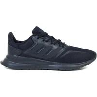 Skor Barn Löparskor adidas Originals Runfalcon K Svarta