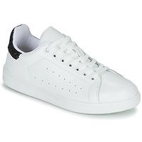 Skor Dam Sneakers Yurban SATURNA Vit / Svart