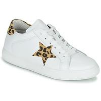 Skor Dam Sneakers Yurban LAMBANE Vit