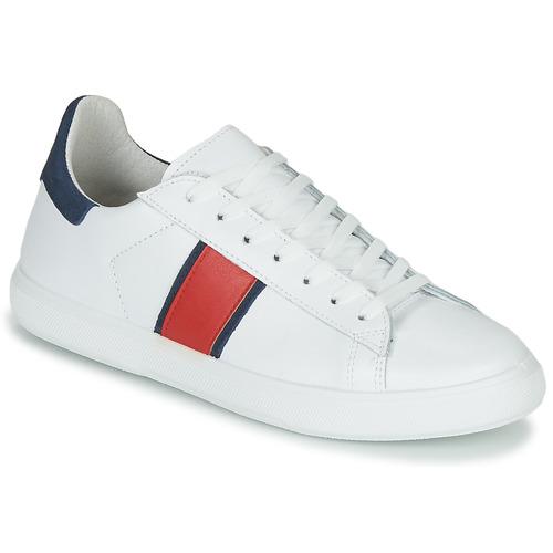 Skor Herr Sneakers Yurban LOUDE Vit
