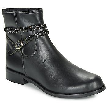 Skor Dam Boots So Size OSCARDO Svart