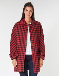 textil Dam Kappor Benetton SIDUDEL Brun / Flerfärgad