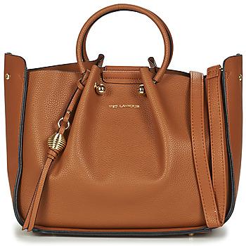 Väskor Dam Handväskor med kort rem Ted Lapidus GRETEL Cognac