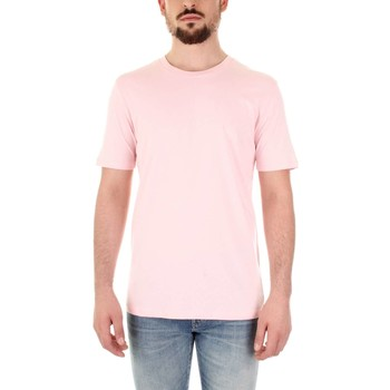 textil Herr T-shirts Selected 16059491 Rosa