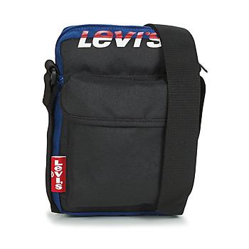 Väskor Portföljer Levi's L SERIES SMALL CROSSBODY COLORBLOCK Svart / Blå
