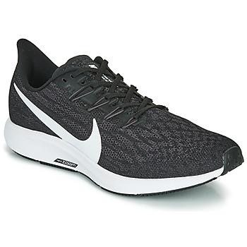 Skor Herr Löparskor Nike AIR ZOOM PEGASUS 36 Svart / Vit