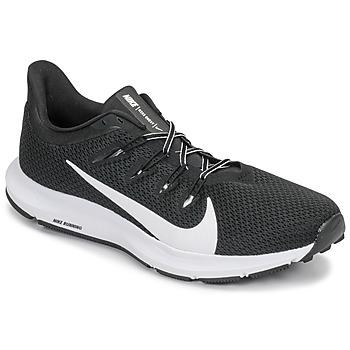 Skor Herr Löparskor Nike QUEST 2 Svart / Vit