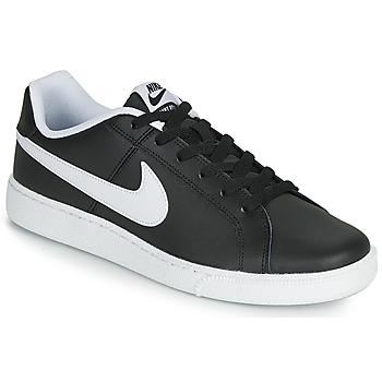 Skor Herr Sneakers Nike COURT ROYALE Svart / Vit