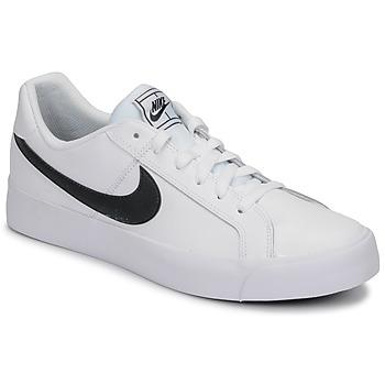 Skor Herr Sneakers Nike COURT ROYALE AC Vit / Svart