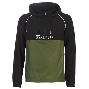 textil Herr Vår/höstjackor Kappa RISANO Svart / Kaki