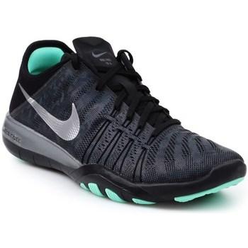 Skor Dam Sneakers Nike Wmns Free TR 6 Mtlc Svarta