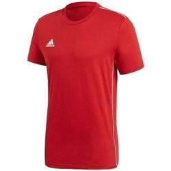textil Herr T-shirts adidas Originals Core 18 Röda