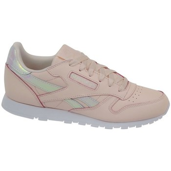 Skor Flickor Sneakers Reebok Sport Classic Leather Rosa
