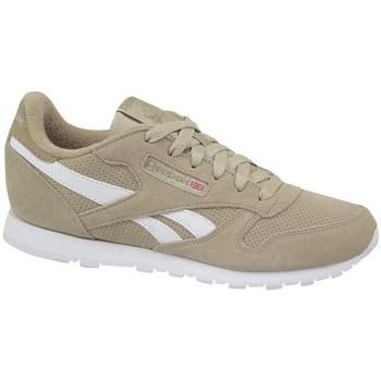Skor Barn Sneakers Reebok Sport Classic Leather Vit, Beige