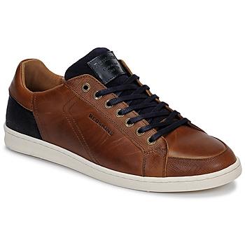 Skor Herr Sneakers Redskins OSTAN Cognac / Marin