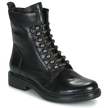 Skor Dam Boots Mjus CAFE STYLE Svart