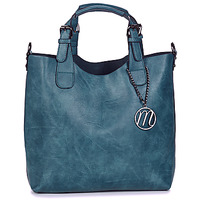 Väskor Dam Handväskor med kort rem Moony Mood EMIRA Marin