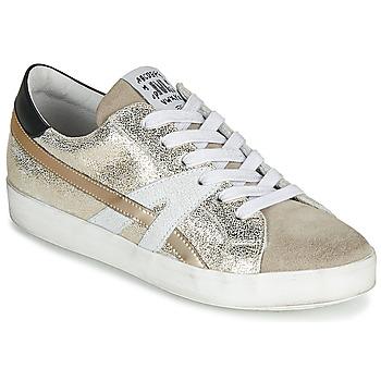 Skor Dam Sneakers Meline MEL Guldfärgad