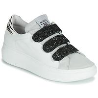 Skor Dam Sneakers Meline SCRATCHO Vit / Glitter