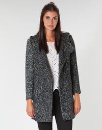 textil Dam Kappor Casual Attitude LOUA Grå / Svart