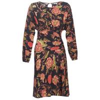 textil Dam Korta klänningar Derhy BANQUISE Svart / Flerfärgad