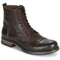 Skor Herr Boots Jack & Jones JFW RUSSEL LEATHER Brun