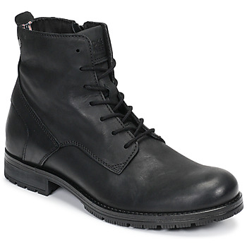 Skor Herr Boots Jack & Jones JFW ORCA LEATHER Svart