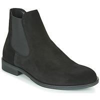 Skor Herr Boots Selected LOUIS SUEDE CHELSEA Svart