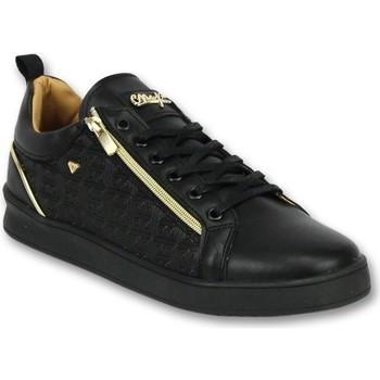 Skor Herr Sneakers Cash Money Träningsskor A Inneskor Maya Full Black Svart