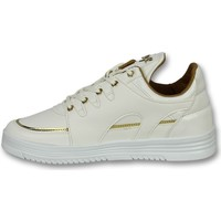 Skor Herr Sneakers Cash Money Höga Sneakers Sneakers För Luxury White Vit