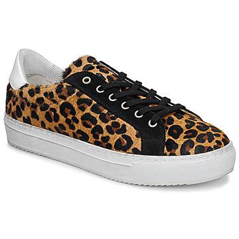 Skor Dam Sneakers Ikks BP80245-62 Leopard