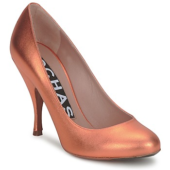 Skor Dam Pumps Rochas RO18061-90 Metall / orange