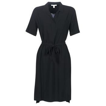 textil Dam Korta klänningar Esprit 079EE1E011-003 Svart