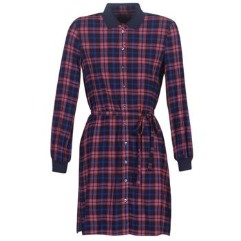 textil Dam Korta klänningar Marc O'Polo 907088121185-K33 Flerfärgad
