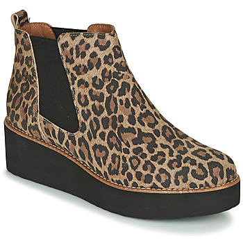 Skor Dam Boots Fericelli LORNA Brun