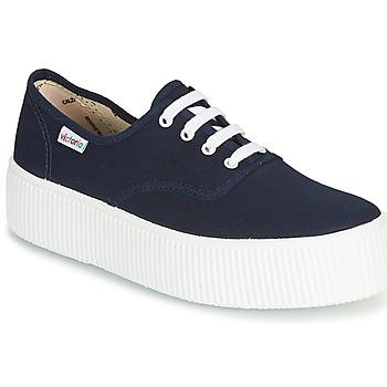 Skor Dam Sneakers Victoria 1915 DOBLE LONA Marin