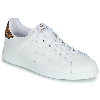 Skor Dam Sneakers Victoria TENIS PIEL Vit