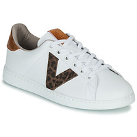 Skor Dam Sneakers Victoria TENS PRINT Vit